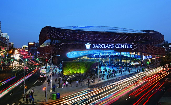 barclays center oct  billboard