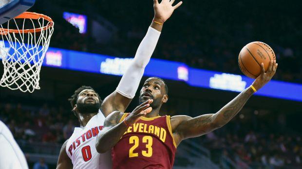 NBA Pistons Cavaliers LN PI