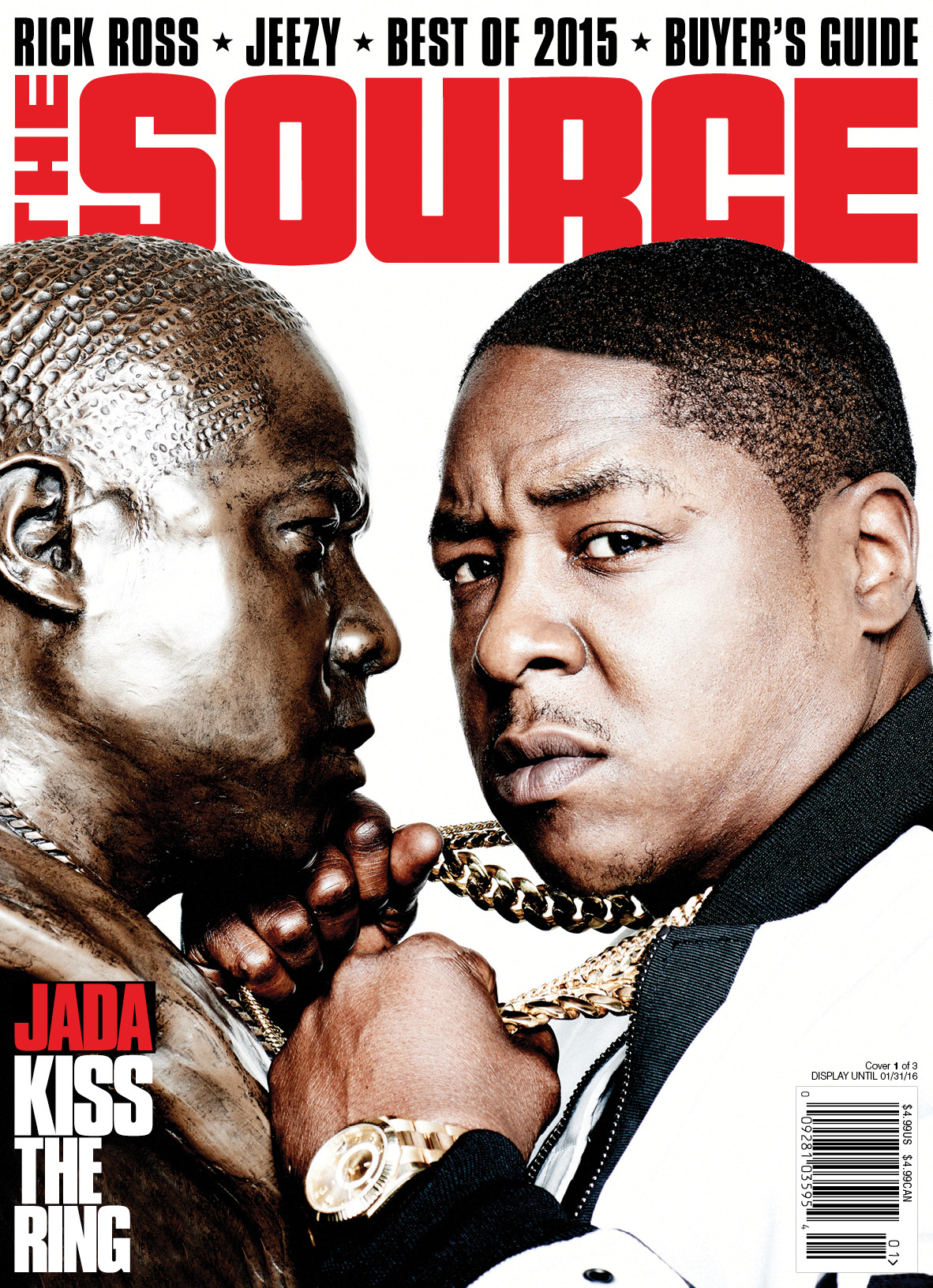 The Source Holiday Issue 2015 Jadakiss Cover 2 Of 3