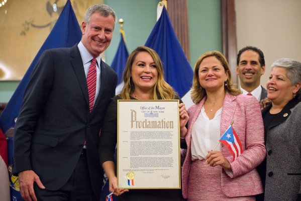Angie Martinez Bill de Blasio
