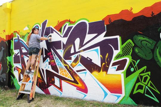 Reds-Graffiti