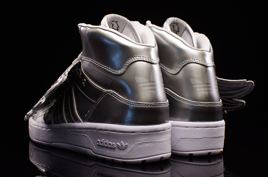 Jeremy Scott Adidas Wings Silver
