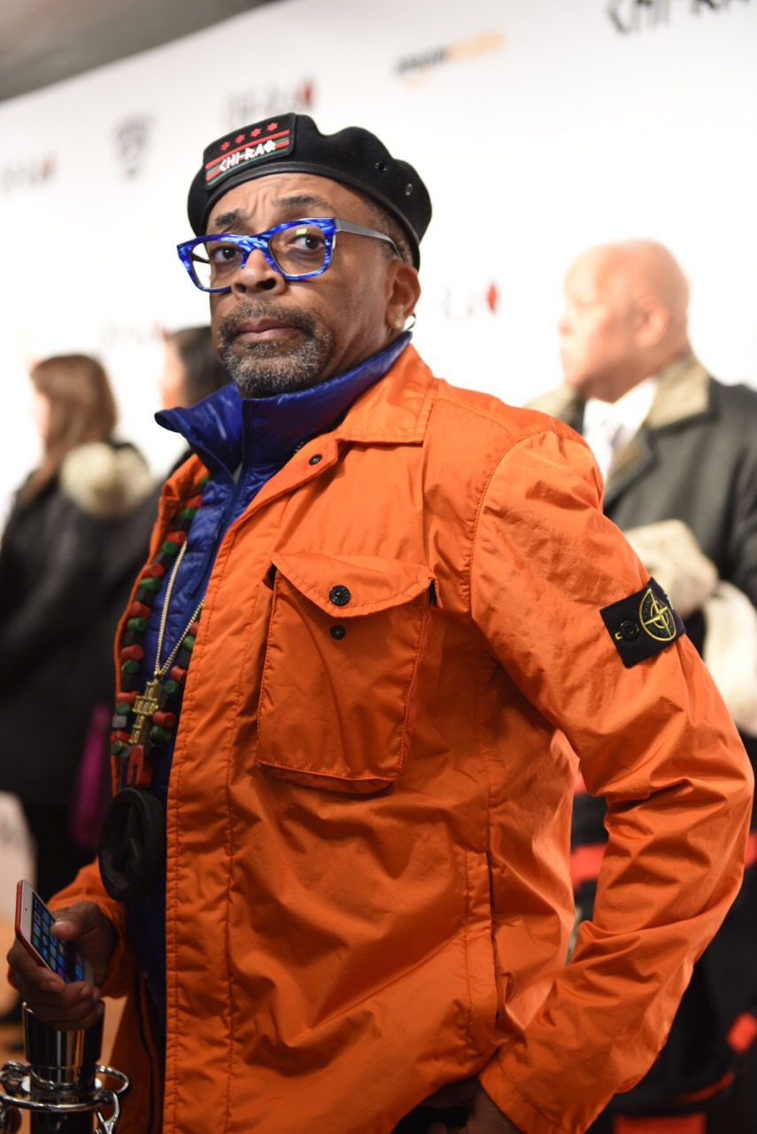 Spike Lee - 'Chi-Raq' World Premiere, Chicago, November 22, 2015, The Chicago Theater Photo credit: Juan Anthony Images