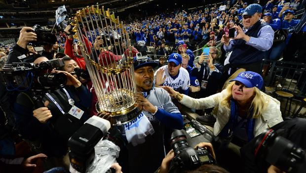 The Kansas City Royals Take The World Series From The Mets