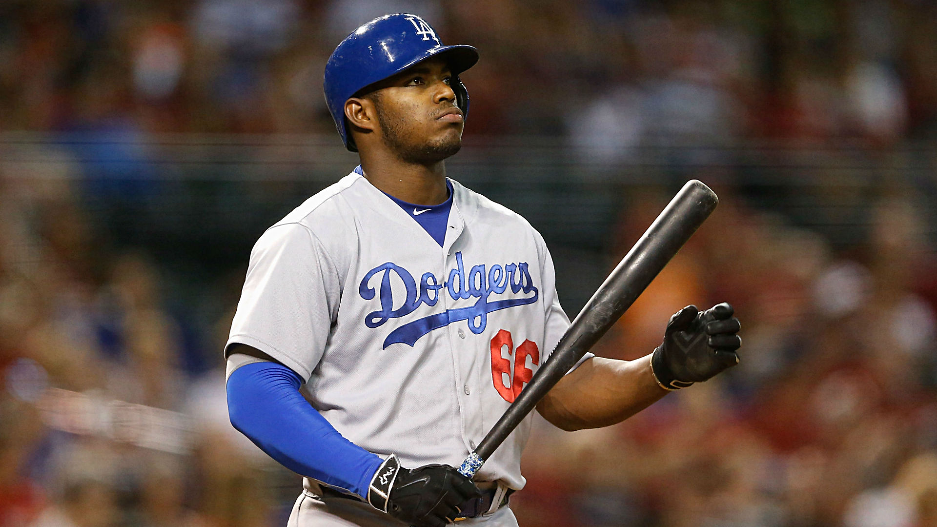 MLB Star Yasiel Puig Sued For Sexual Battery At Lakers Game