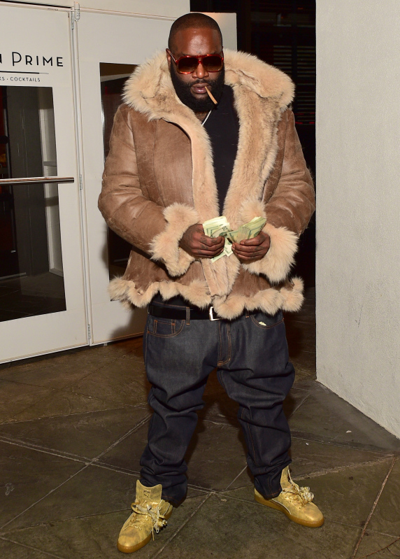 Rick Ross Private Birthday Dinner Party At Ocean Prime