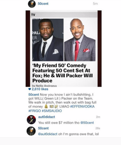 50 Cent IG