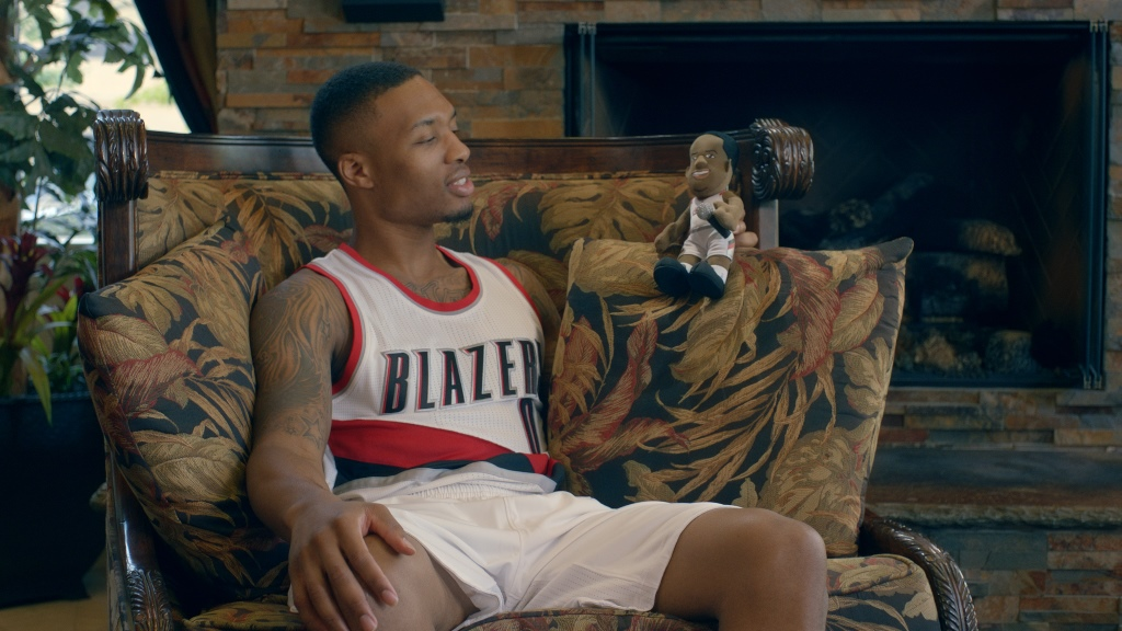 Damian Lillard Plush Doll