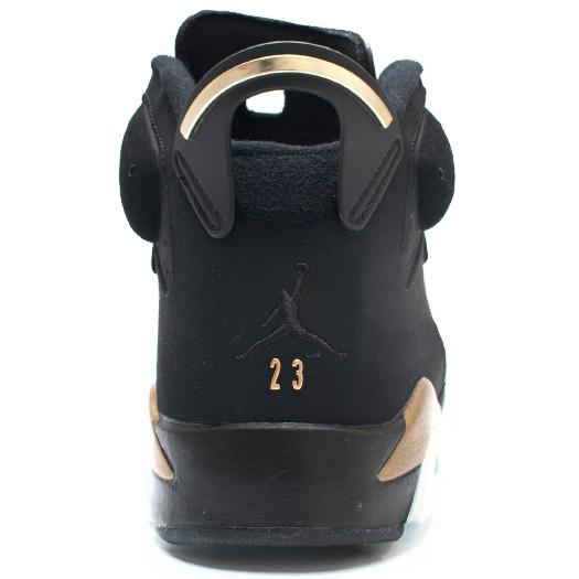 Good Quality   Nike Air Jordan  VI Retro DMP Defining Moments Black Metallic Gold Mens Shoes Online