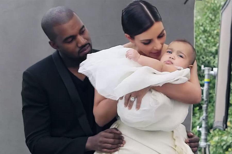 Kim Kanye North