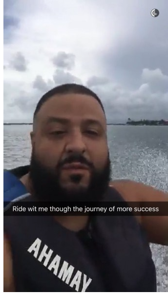 5 Reasons Why Following DJ Khaled On Snapchat Is The Key To Success