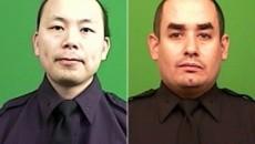 Slain NYPD Officers Liu & Ramos.