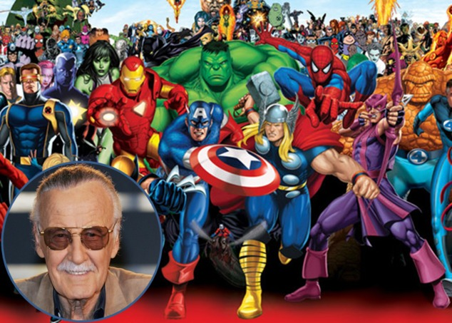 Image result for stan lee marvel characters