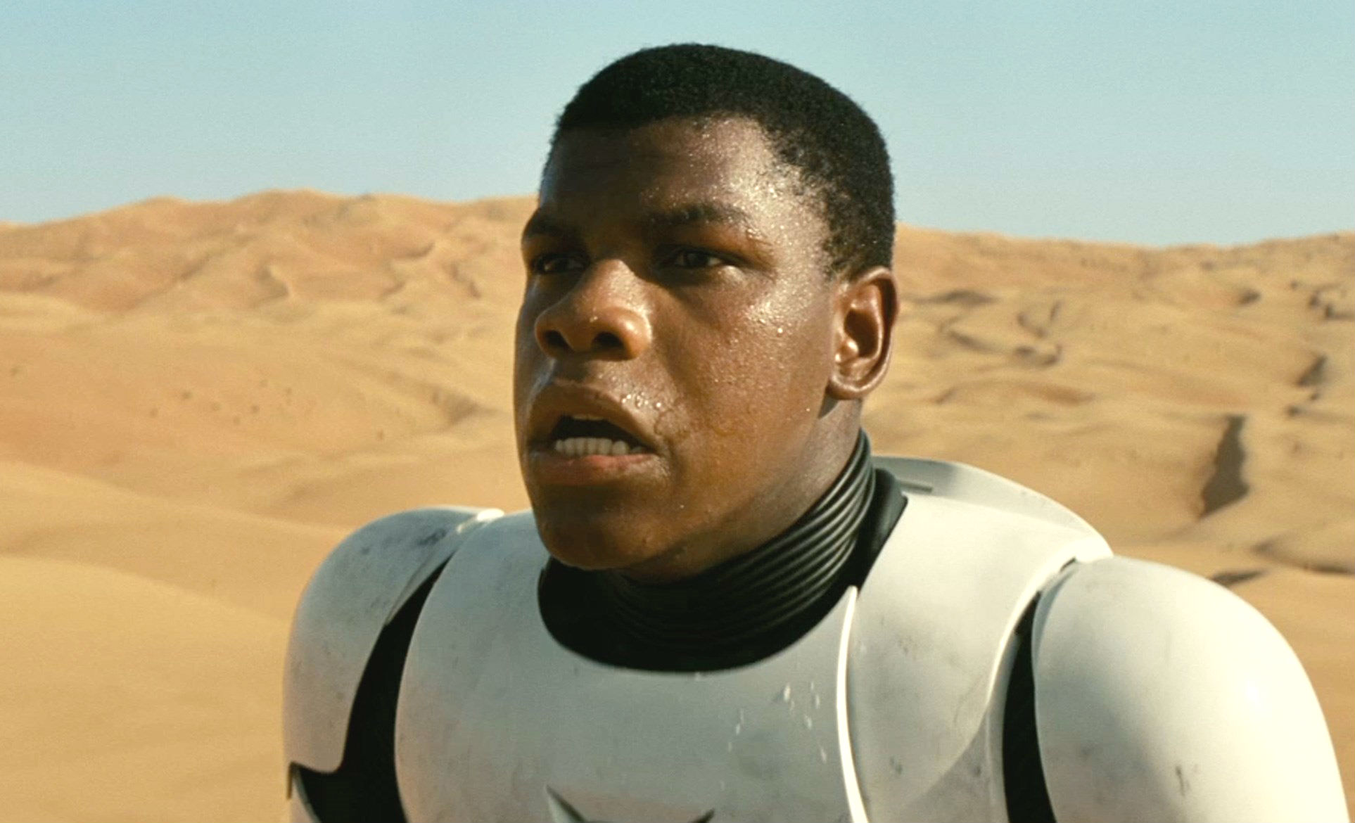 Star Wars The Force Awakens trailer screengrab John Boyega