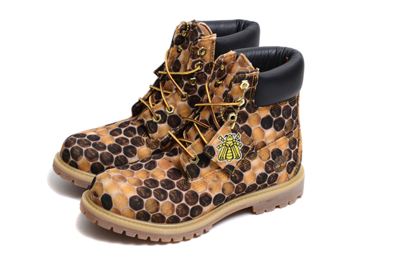 bee line for billionaire boys club timberland  inch printed canvas pack