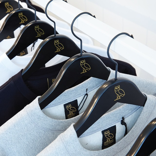 drake ovo brand releases new clothing items in store and online
