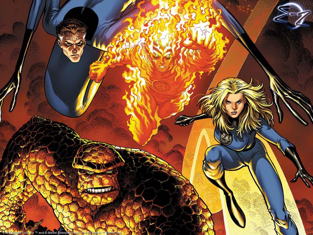 Fantastic 4 Cartoon Characters : Happy birthday stan lee top marvel comics characters