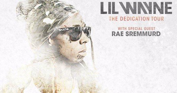 lil wayne announces the dedication tour