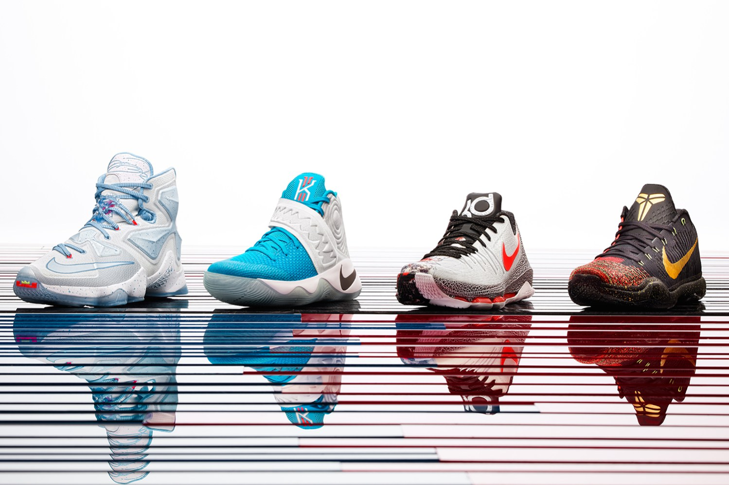 online store d97f9 fb63a The Nike Basketball 2015 Christmas Collection is Fire and Ice