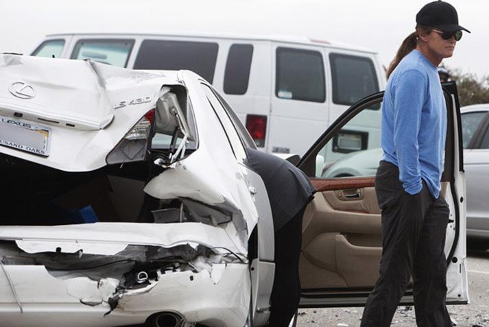Bruce Jenner Caitlyn Jenner Car Wreck