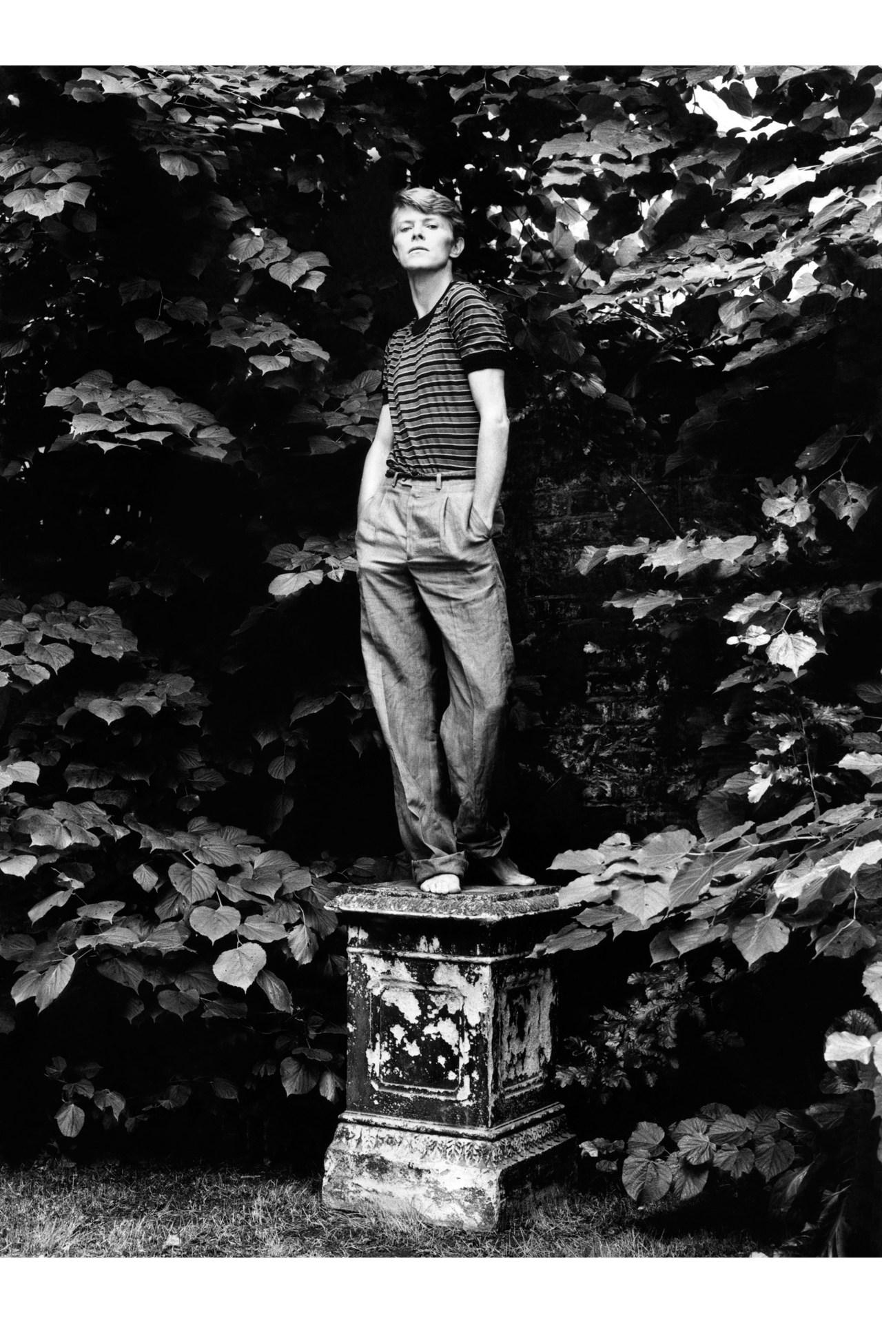 David Bowie  Vogue Jan Snowdon b