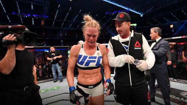 Holly Holm Mike Winkeljohn UFC