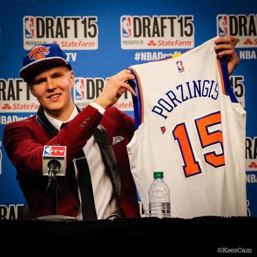 NY Knicks Rookie Kristaps Porzingis Still Lives At Home