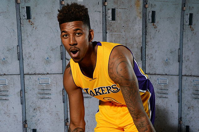 Nick Young  Los Angeles Lakers  billboard