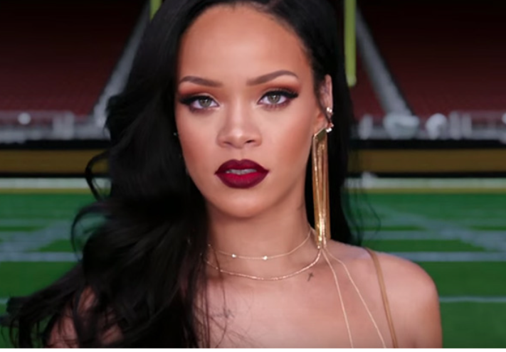 Rihanna Stars In New Cbs Promo For Super Bowl 50 Amp The