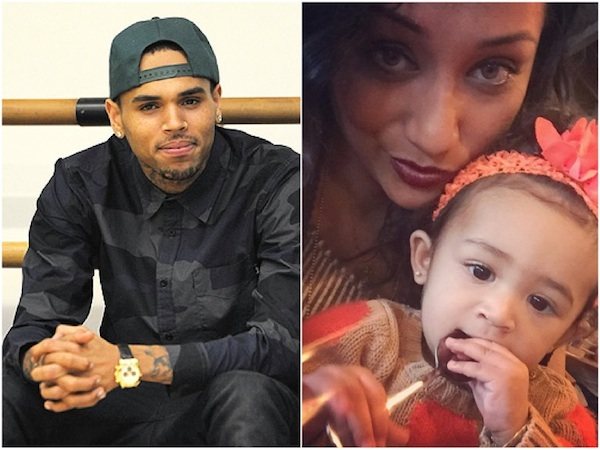 The Source Chris Brown Nia Guzman
