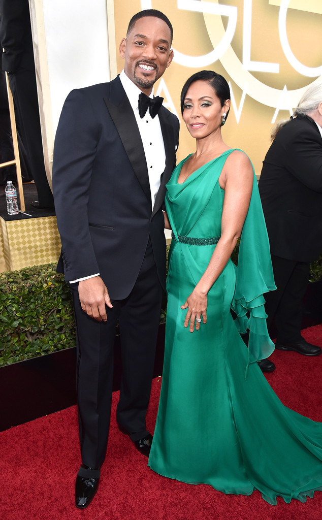 Will Smith Jada Pinkett Smith Golden Globes eonline