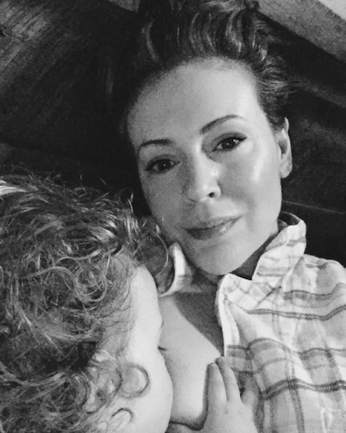 alyssa milano breastfeeding debate wendy williams