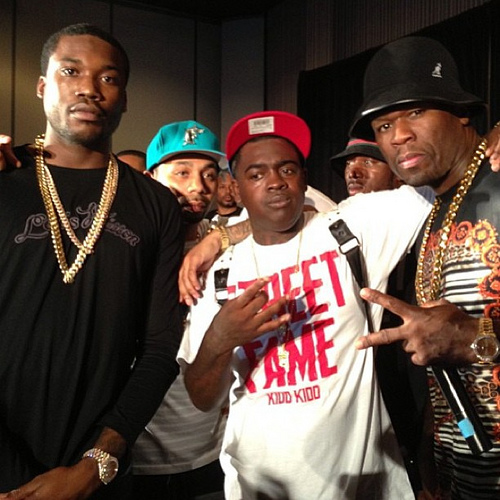 meekfif meek mill submits to 50 cent's ig comedy \