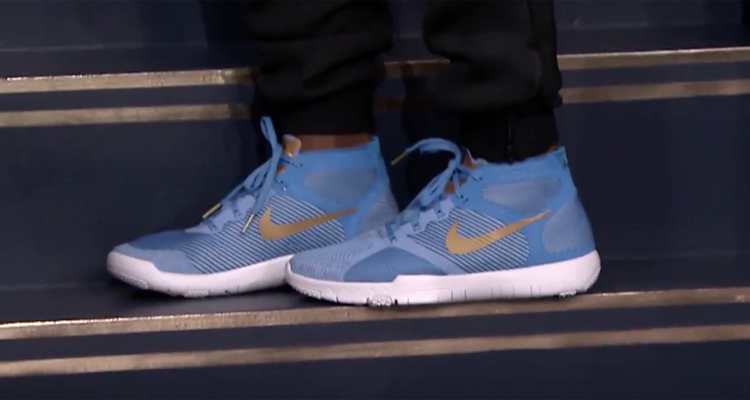 31e320ab1f62 Take a Look at the Second Colorway of Kevin Hart s Nike Hustle Hart Kicks