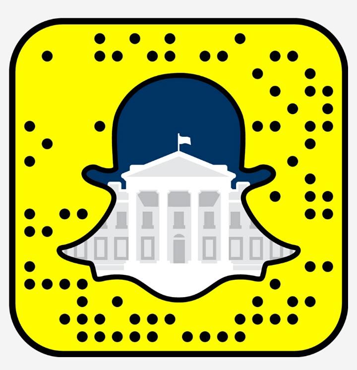 whitehouse snapchat code