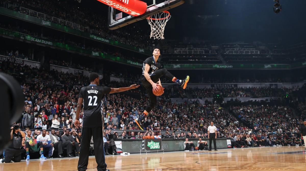 lavine dunk contest with wiggins