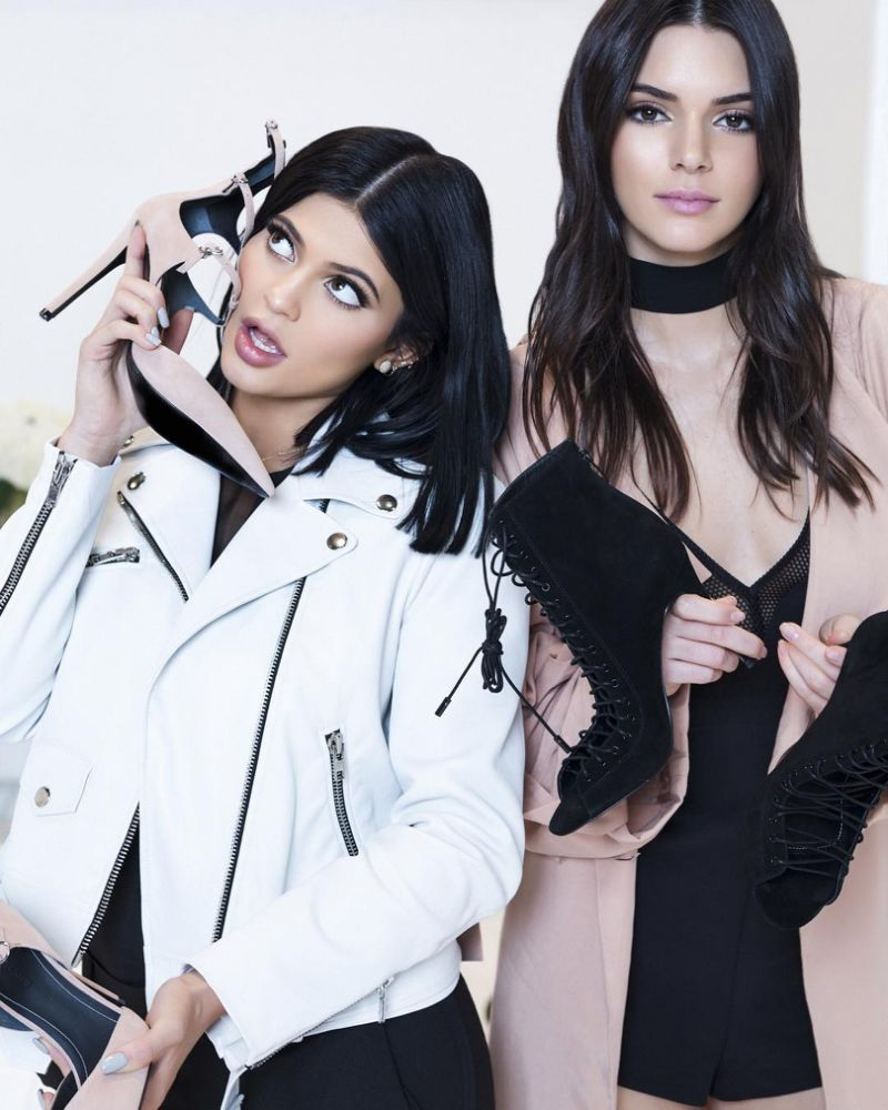 kendall and kylie jenner debut new fashion line the source. Black Bedroom Furniture Sets. Home Design Ideas