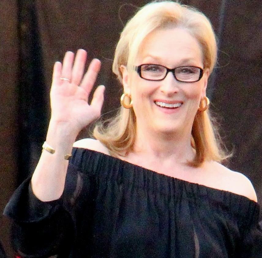 Meryl Streep At The  SAG Awards  cropped