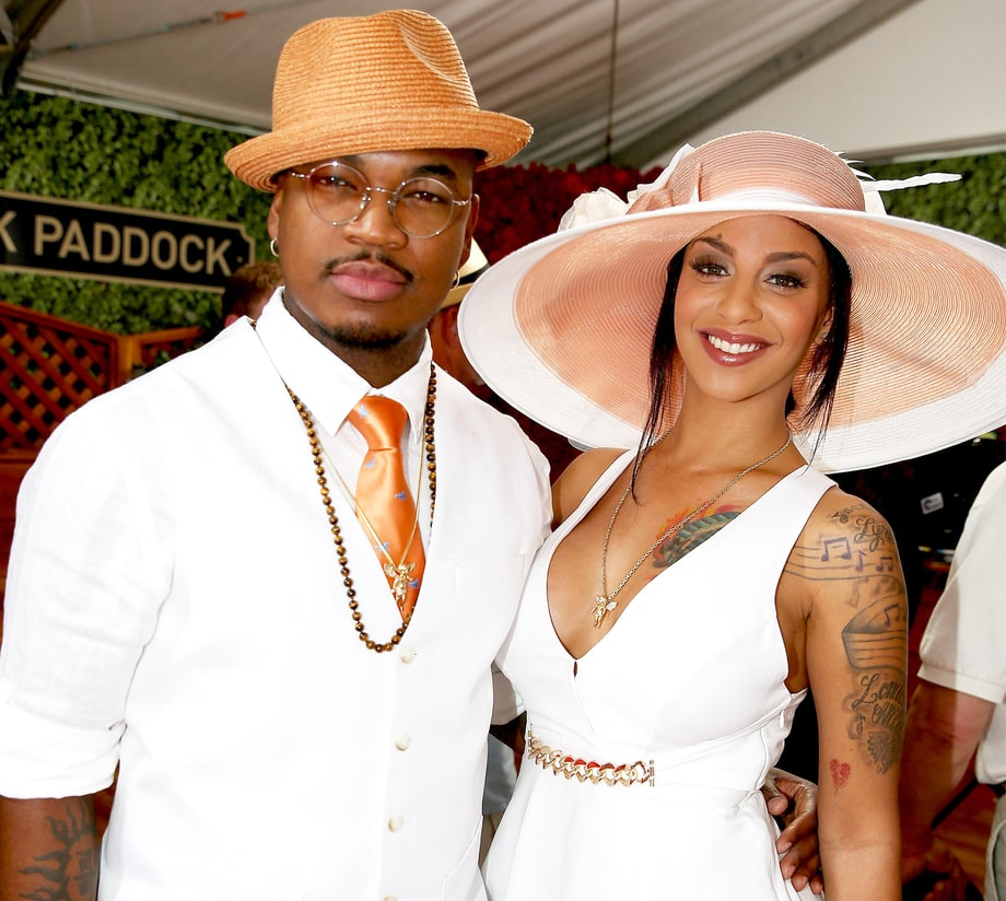 Neyo and wife