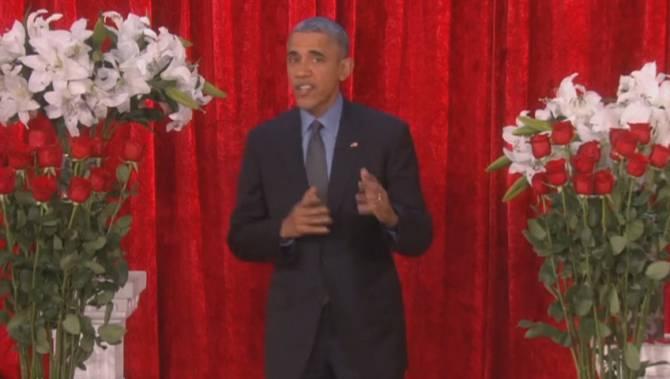 Obama Gets Romantic