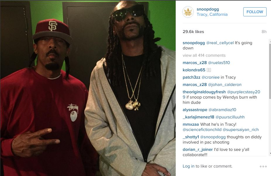 Snoop and celly cel