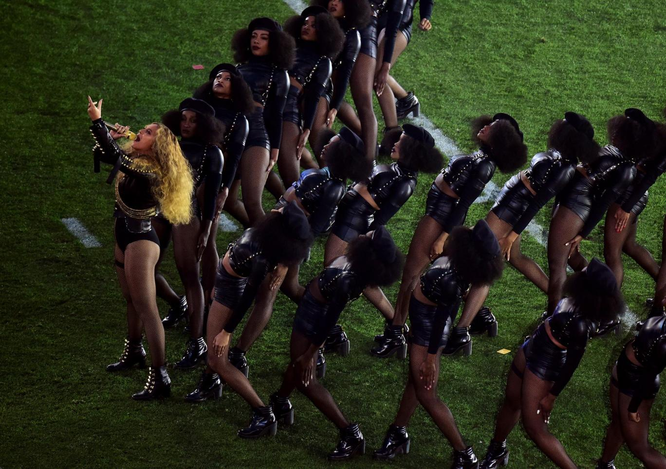 beyonce super bowl black panthers