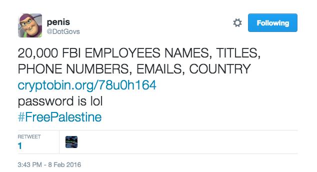 hacker tweet