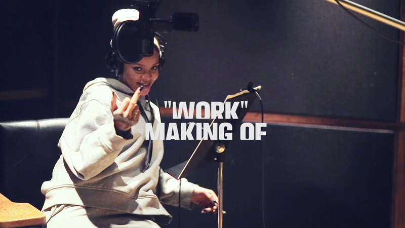 rihanna work studio