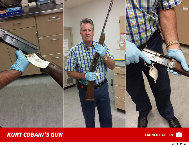 New Photos Of The Shotgun Used In Kurt Cobain's Suicide ...
