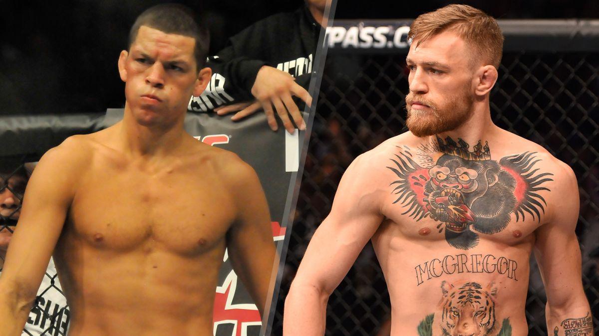 UFC Nate Diaz Conor McGregor SS PI