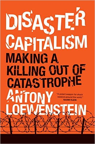 Disaster Capitalism Book Cover