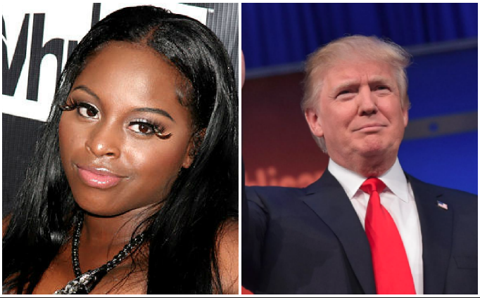 Foxy Brown Donald Trump The Source