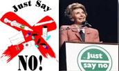 Nancy Reagan_Just say no #2