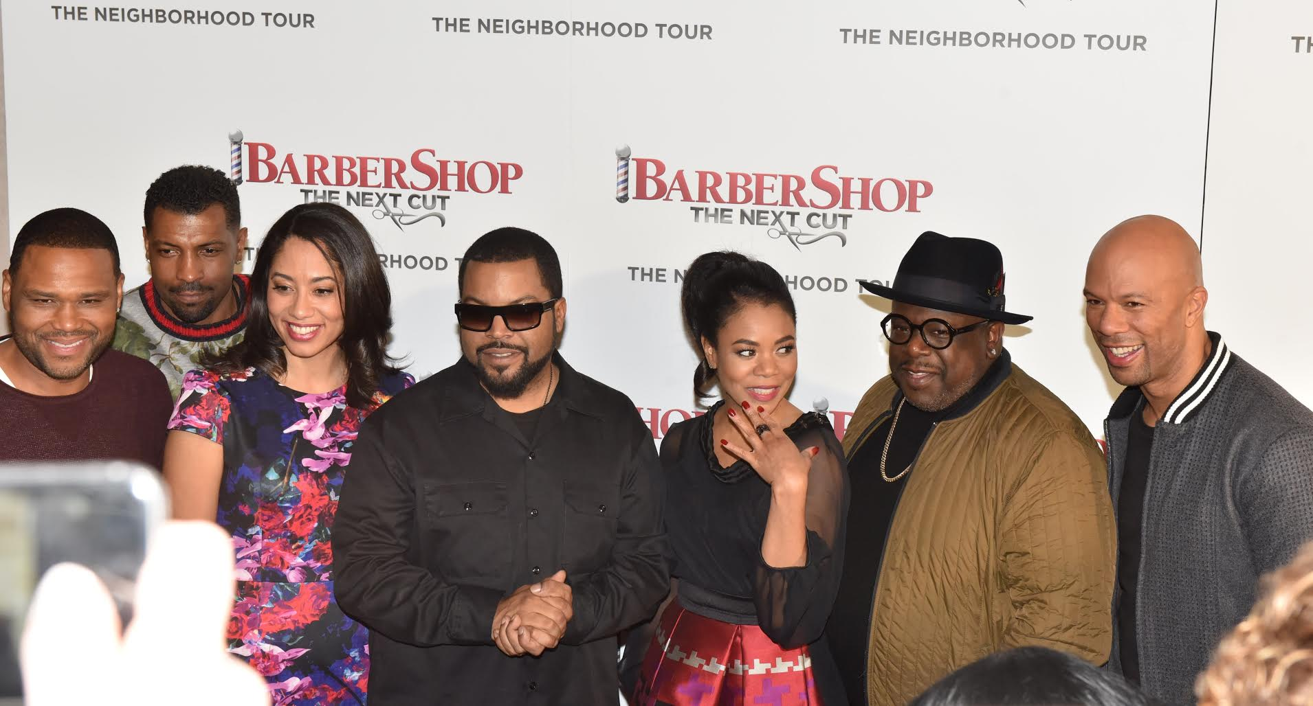 barbershop cast feature